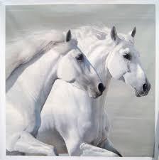 white horses. Simple Horses Two White Horses Inside H