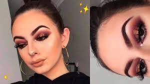 2 fall inspired makeup look