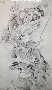 Tattoo Sketches From Our Tattoo живопись карп тату эскиз тату и