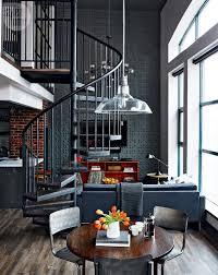 Industrial Design Living Room Loft Tour Retro Industrial Design Style At Home
