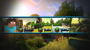youtube channel art minecraft. Brilliant Channel Speed Art 7  Minecraft BannerChannel Template Youtube Channel One   YouTube On Channel