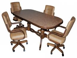 leather dining chairs with casters. Dining Chairs On Casters New Room With Rollers Appalling Furniture Leather R