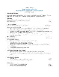 surgical technician essay resume template 2017 2017 resume format - Surgical  Tech Resume