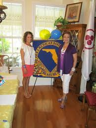 on the left is the newly appointed part director dr carmen boden and on the right is the retiring director julieta greene