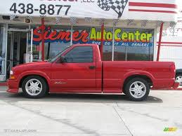 2000 Victory Red Chevrolet S10 Xtreme Regular Cab #8537193 ...