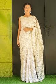 Best 25 White saree ideas on Pinterest