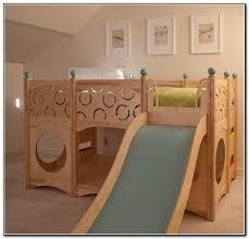 loft with slide. ikea loft bed with slide