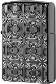 29665 <b>Зажигалка</b> Zippo <b>Decorative</b> Pattern Design, <b>Armor</b> Black Ice
