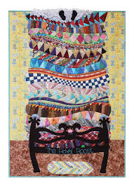 92 best Fantasy & fairytale quilts images on Pinterest | Fairy ... & The Princess and the Pea fairy tale quilt: Jill's Royal Roost by Jill  Monley. Inspired by Gail Garber's workshop at Empty Spools Adamdwight.com