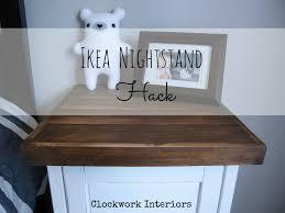 Ikea Hack Nightstand Ikea Nightstand Hack Clockwork Interiors