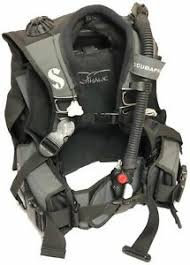 Details About Scuba Pro Ladyhawk W Balanced Inflator Black Grey Large New