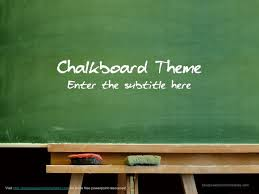 Chalkboard Ppt Theme Hare And Hare Free Powerpoint Themes I Used Lately