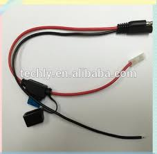 new red black of wire 15a molding fuse crimp 187 type terminal of new red black of wire 15a molding fuse crimp 187 type terminal of auto lighting