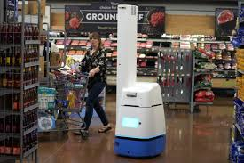 The Robots Rolling Is Walmart Out Wsj -