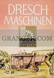 Old Brochures Image Of Agriculture Germany Old Advertising Brochures Front Page