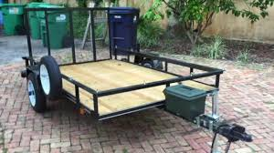 carry on 5x8 trailer modifications
