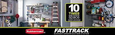 rubbermaid fasttrack garage