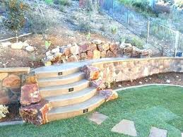 landscape retaining wall ideas retaining wall landscape