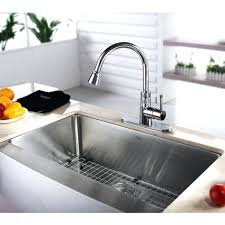 khf200 33 elegant inch kitchen sink stainless steel inch farmhouse khf200 33 kpf1602 ksd30 kraus farmhouse