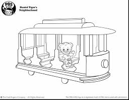 Free Daniel Tiger Coloring Pages With Best And His Friends