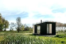 ark metal window frame stone window ark wooden house this prefab tiny house simplicity its most