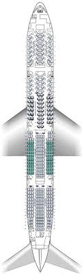 Air New Zealand 777 200 Seating Chart 170 Best Airline Seat Maps Images In 2019 Aircraft