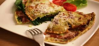 Ricette Omelette con aglio orsino e mozzarella