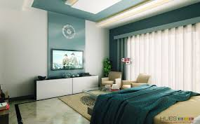 Modern Bedroom Decoration Bedroom Fair Modern Blue And Cream Bedroom Decoration Using