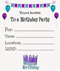 Free Templates For Birthday Invitations Free Birthday Invitation Templates Best Business Template 1