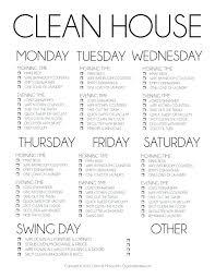 Household Chores Template Senetwork Co