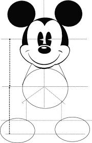 ミッキーイラスト全体version1 ホームページ にこもり