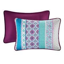 intelligent design adley 6 piece purple