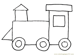 Small Picture Train 4 Coloring Page Free Land Transport Coloring Pages