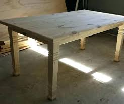 unfinished farm tables large farmhouse table unfinished chair plans size of long narrow dining