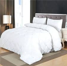 black white luxury duvet cover set pinch pleat 2 twin queen king size bedclothes bedding covers