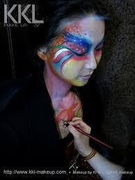 makeup artist hong kong kkl makeup body paint
