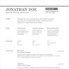 Resume On Google Docs Inspiration Word Sample Resume Templates For Internship Free It Doc Wo