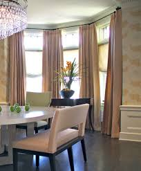great of round bay window curtain rods round designs pics