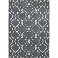 concord global trading new casa quatrefoil blue 3 ft x 5 ft area rug