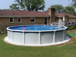 above ground swimming pool ideas. Landscaping Ideas With Above Ground Pool. Backyard Swimming Pool