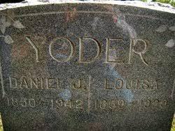 Lucinda Louisa Miller Yoder (1859-1929) - Find A Grave Memorial