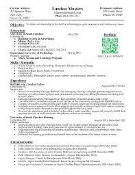 Gallery Of Internship Resume Internship Resume Example