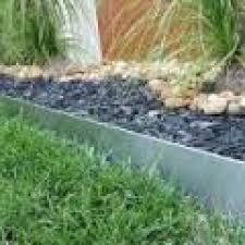 galvanised steel garden edging