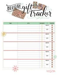 Gift Tracker Holiday Gift Tracker Free Download