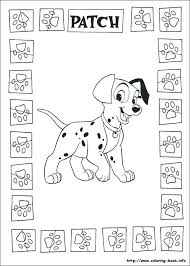egg puppies are playing coloring page pages dalmatians dalmation printable