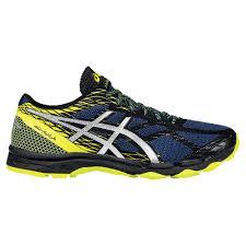 asics gel fujilyte men s trail running shoes 4831699 terranean silver flash yello