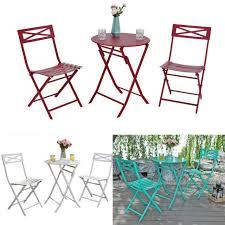 vintage metal patio set 3 piece outdoor