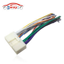 online buy whole mazda 6 wiring harness from mazda 6 car radio stereo male iso plug power adapter wiring harness special for mazda 2 mazda 3