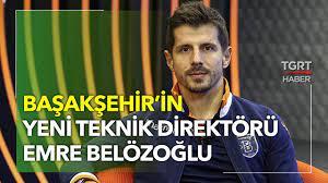 Emre Belözoğlu Başakşehir'in Yeni Teknik Direktörü Oldu - TGRT Haber -  YouTube