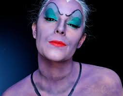 ursula from the little mermaid fantasy makeup tutorial